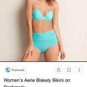 aerie Swim - Aerie Convertible High Rise Bikini